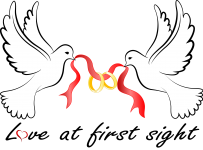 Dove with rings