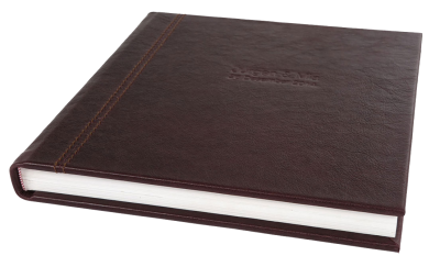 Wedding stationary Stylish leather album